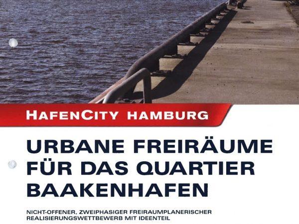 Urbane Freiräume für das Quartier Baakenhafen, 2011