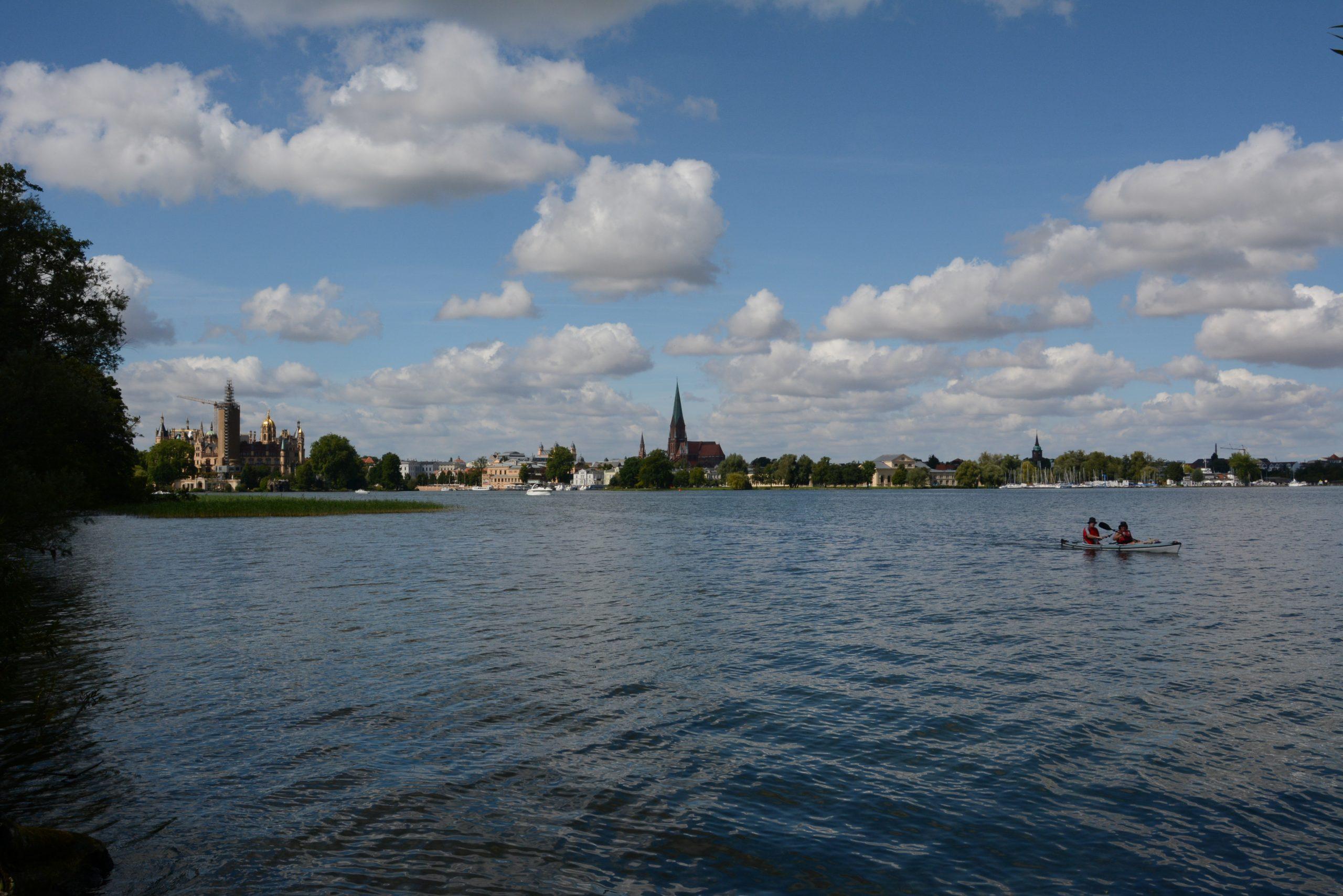 Schwerin, Leben am Wasser. Foto: BHF.