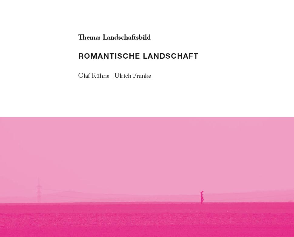 Romantische Landschaft, 2010