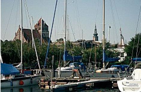 Greifswald, Neues Wohnen am Ryck, 2006