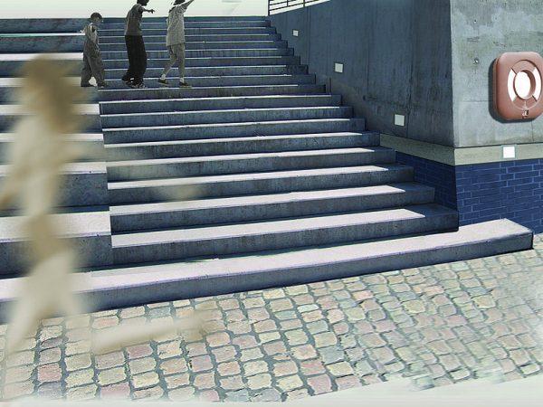 HafenCity Hamburg, Sandtorkai Promenade + Plätze