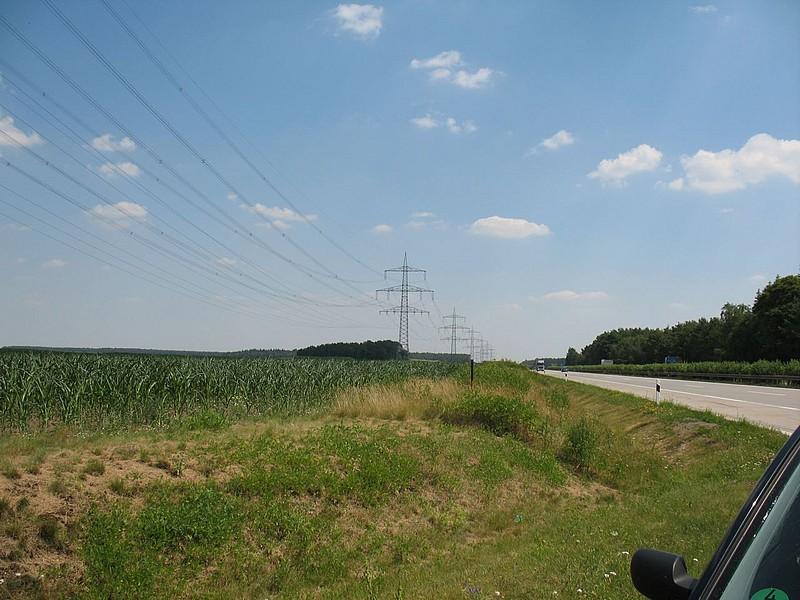 Krümmel - Görries, 380 kV-Freileitung