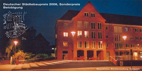 Neumünster, Deutscher Städtebaupreis, 2008
