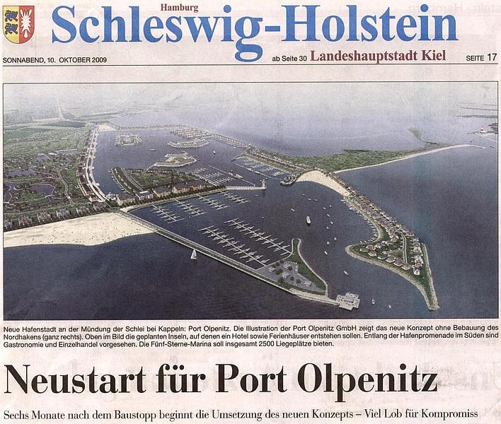 Olpenitz, Konversion Port Olpenitz