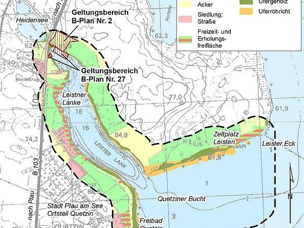 Plau am See, Naturhafen Leistner Lanke