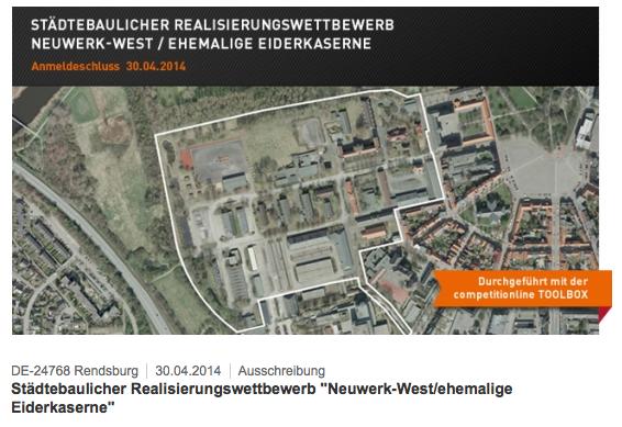 Rendsburg, Neuwerk-West/ ehemalige Eiderkaserne, 2014