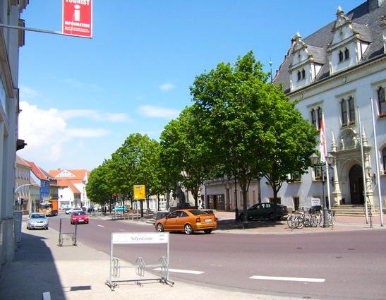 Schönebeck / Elbe, Marktplatz, 2011