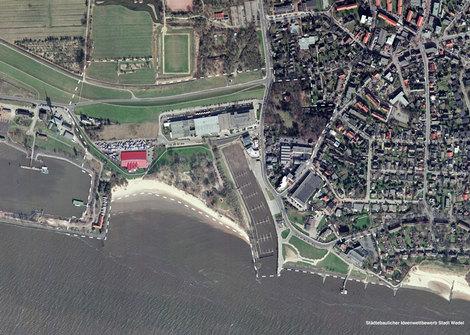 Wedel, Schulauer Hafen, 2006