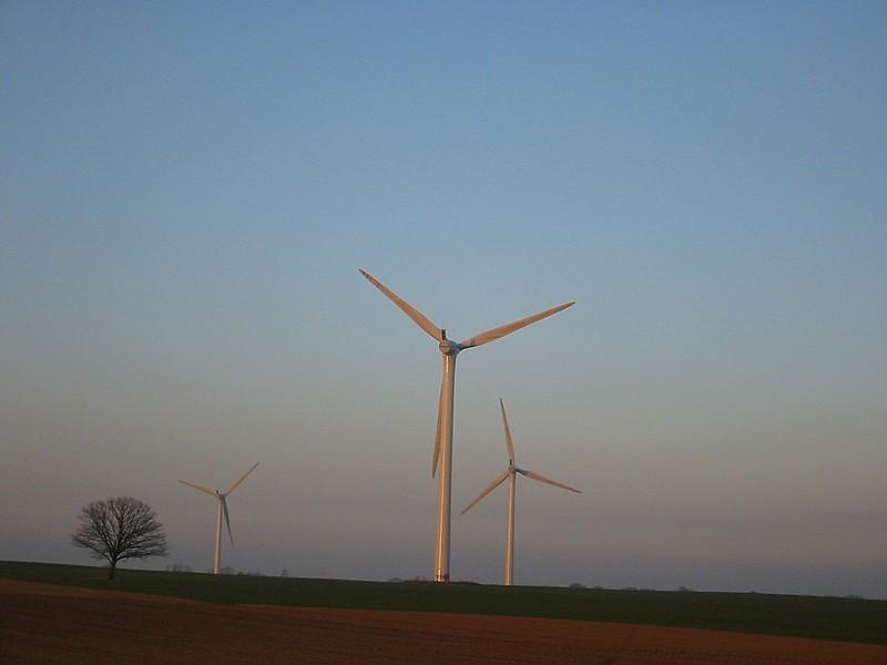 Norddeutschland, Windkraftanlagen