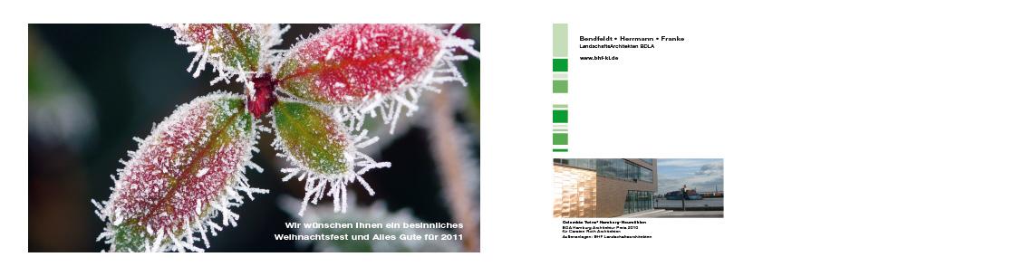 2010 Weihnachtskarte