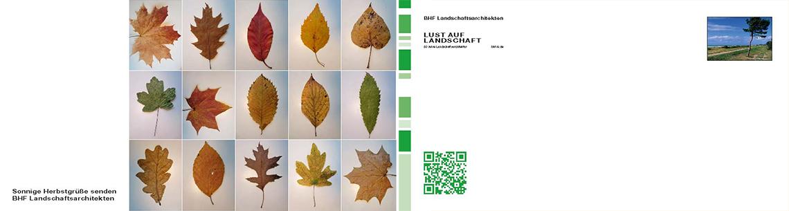2013 Herbstkarte