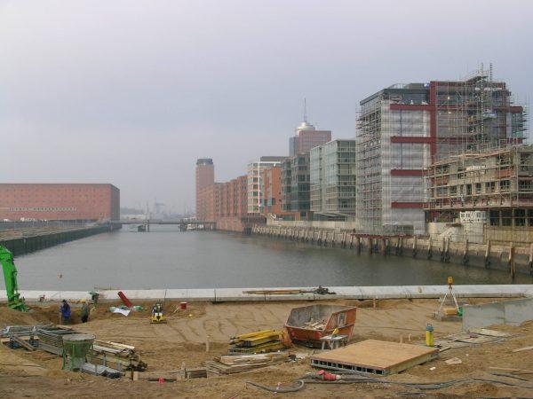 Freiräume Westliche HafenCity, 2003