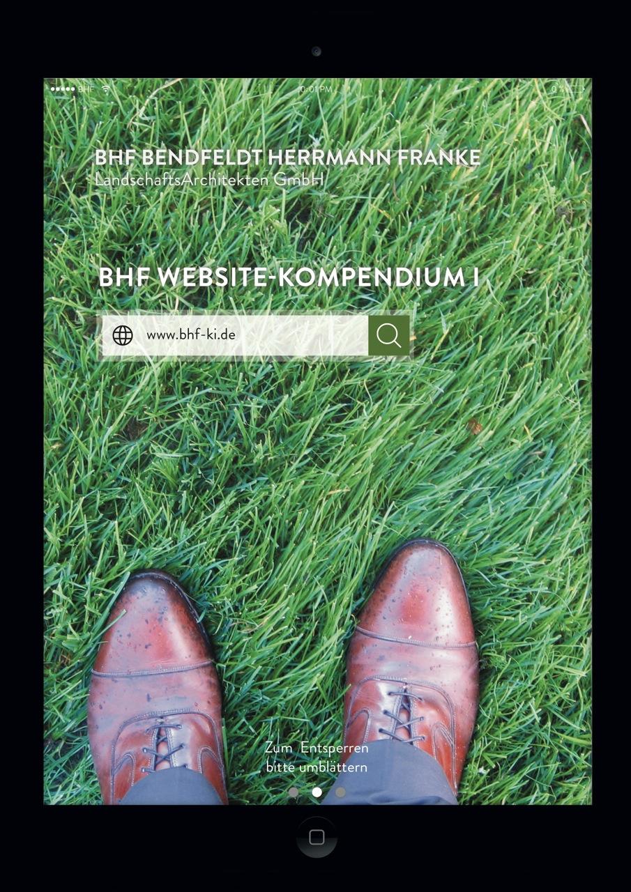 BHF Website-Kompendium I, 2016