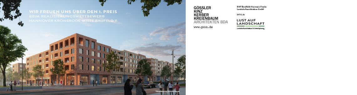 2019 – 1. Preis Hannover Kronsrode-Mitte
