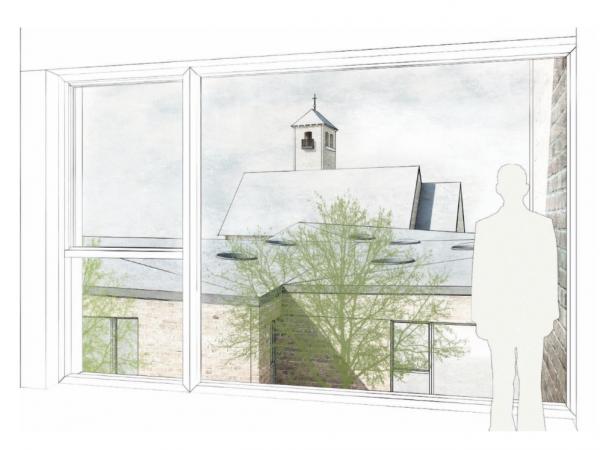1. Preis, Hamburg, Gemeindehaus, Kita und Wohnungsbau St. Michaelkirche, 2019