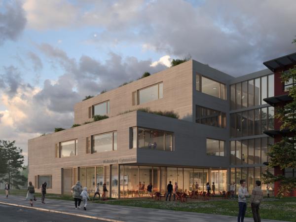 1. Preis, Michendorf, Erweiterung Wolkenberg-Gynnasium, 2019