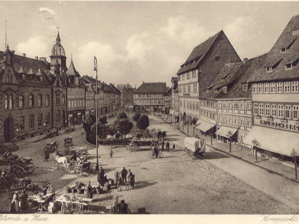 """Osterode am Harz, Realisierungswettbewerb """"Kornmarkt"""", 2019"""