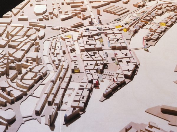 3. Preis, Hamburg, Masterplan Hafencity, 2000