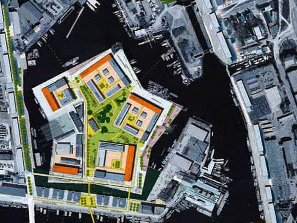 Hamburg, Harburger Schlossinsel, 2006
