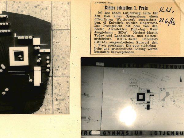1. Preis, Gymnasium Lütjenburg, 1963