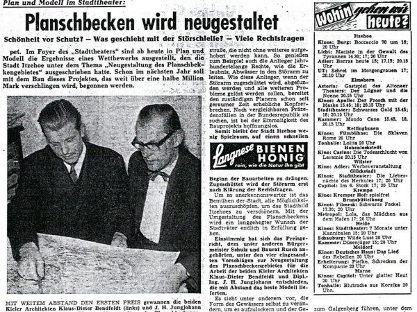 1. Preis Planschbeckengelände, Itzehoe, 1963