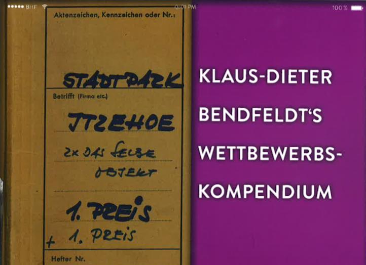 Klaus-Dieter Bendfeldt´s Wettbewerbs-Kompendium, 2020