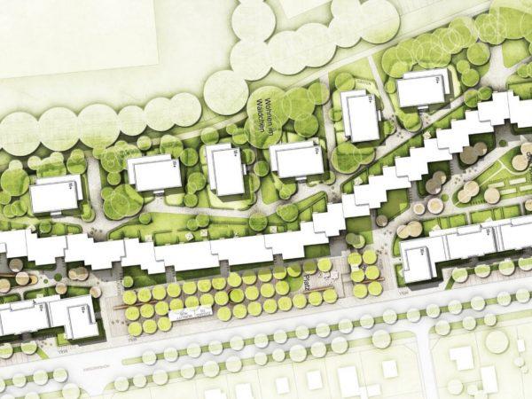 Weiterentwicklung des Lindwurmareals, 2020