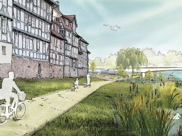 Rotenburg an der Fulda, Fuldaufer, 2020