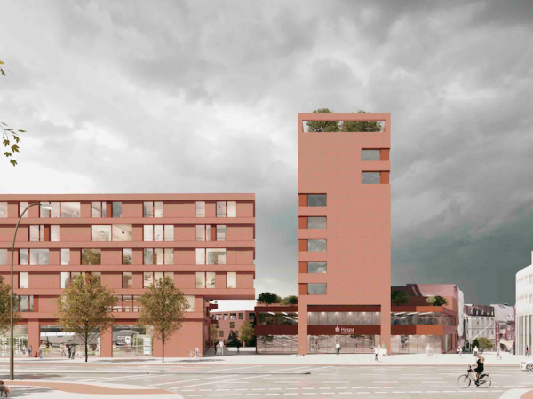 Hamburg-Bergedorf, LoMa4 Lohbrügger Marktplatz, 2020