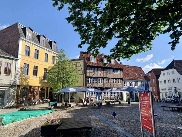 Altstädter Markt, Rendsburg, 2021