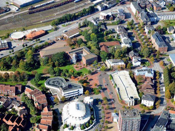 Neubau ZOB und Umgestaltung Bahnhofsvorplatz, Itzehoe, 2021