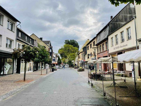 Neugestaltung Fußgängerzone Bergheim, 2021