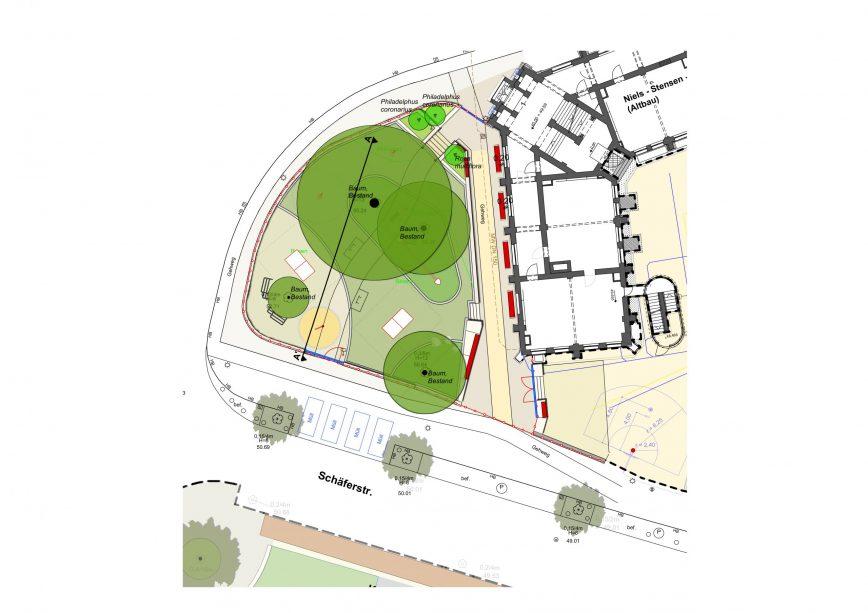02 Lageplan Stensen Schule