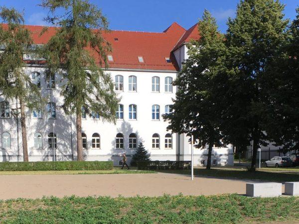 Schwerin, Volleyballfeld Werderkaserne, 2020
