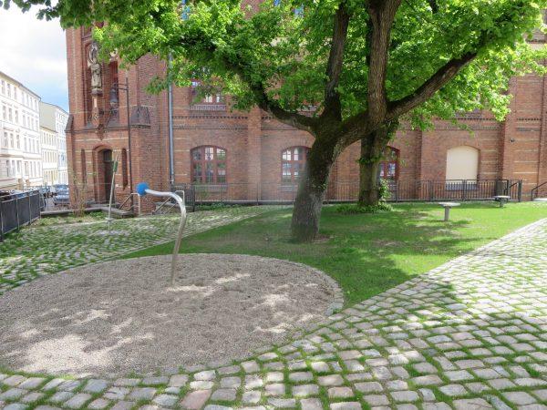 Schwerin, Schulhoferweiterung Niels- Stensen-Schule, 2021