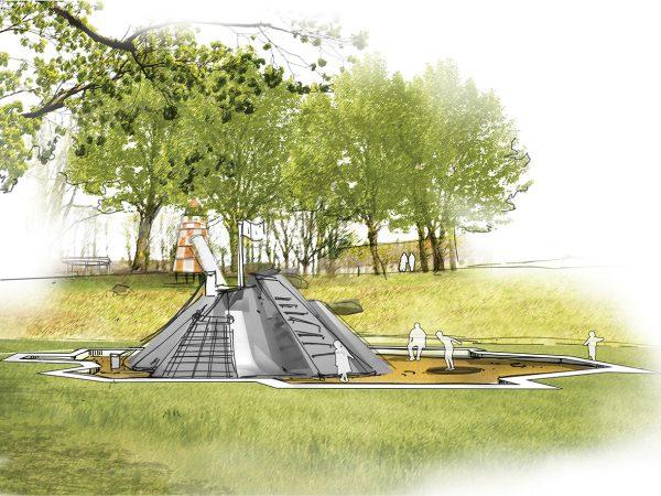 Spielanlage Albert-Schweitzer-Weg, Kiel, 2021