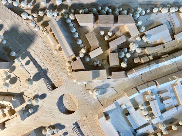 Büro- und Wohnbebauung am Waldwiesenkreisel, Kiel, 2021